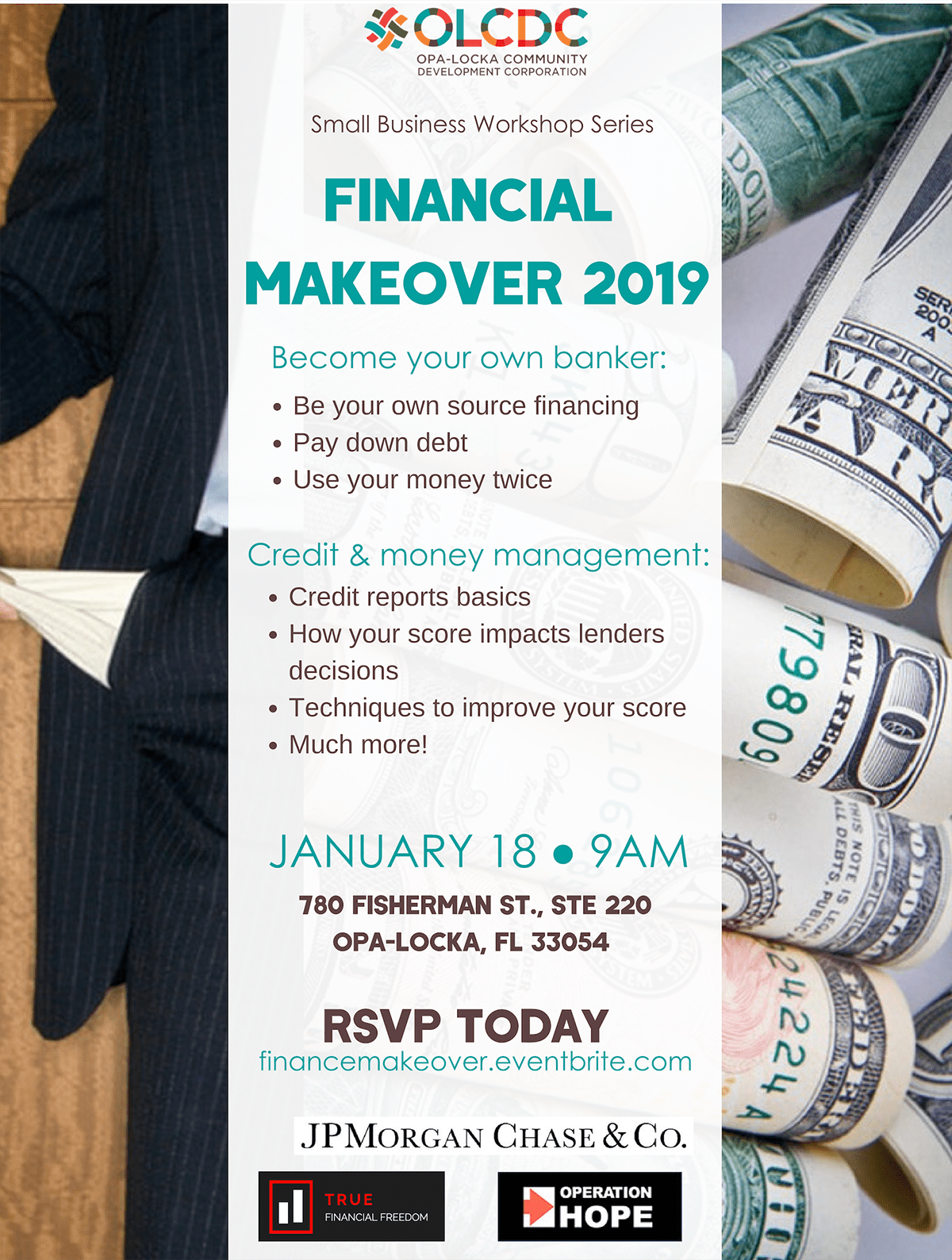 Financial Makeover 2019 - Refresh Miami