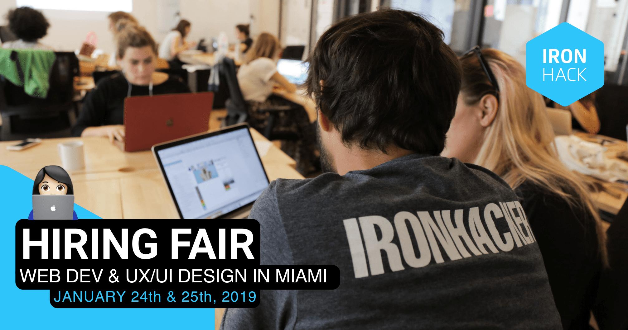 Ironhack Miami Hiring Fair - RSVP Required - Refresh Miami