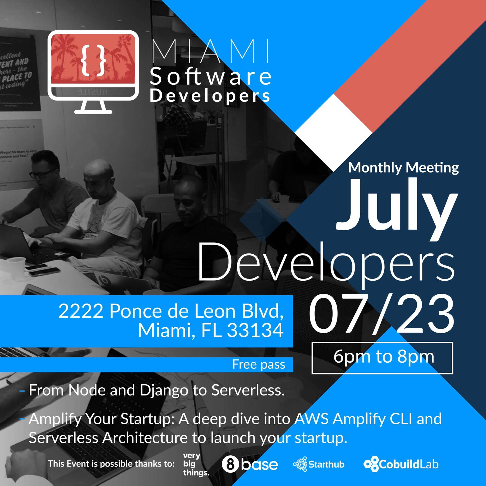 Miami Software Developers Monthly Edition: React and