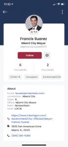 Politics served up your way? Miami entrepreneur rolls out non-partisan civic engagement app